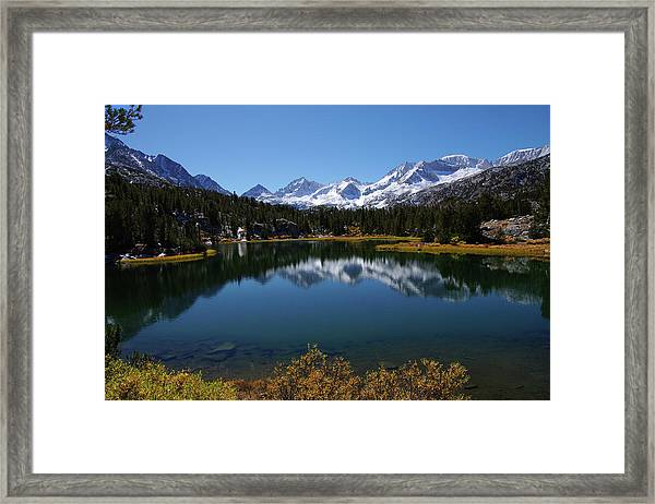 Little Lakes Valley Eastern Sierra Framed Print