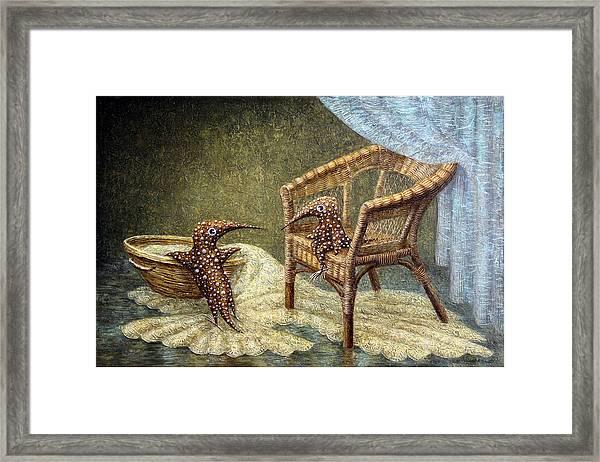 Little Love Story Framed Print by Lolita Bronzini