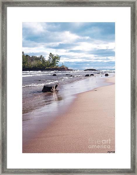 Little Presque Isle Framed Print