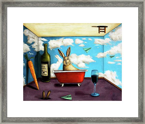 Little Rabbit Spirits Framed Print