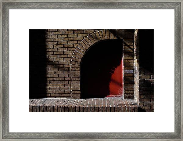 Little Red Corner In Downtown Orlando Florida Framed Print