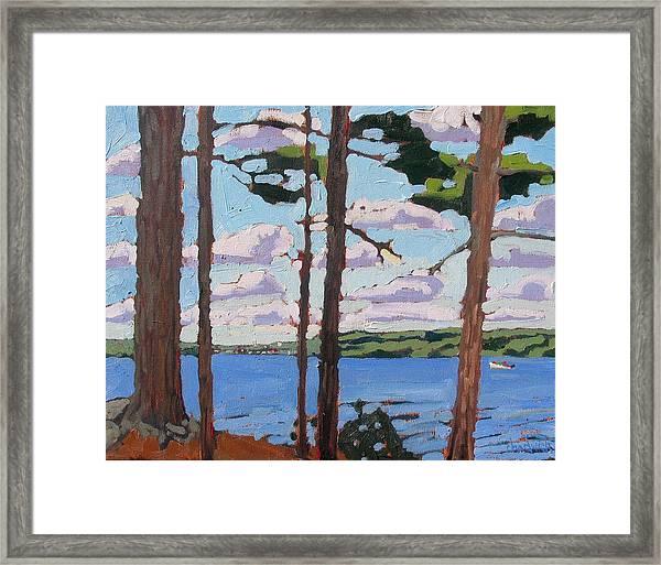 Little Rideau Lake Framed Print