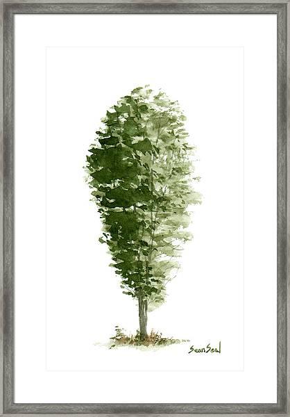 Little Tree 7 Framed Print