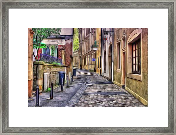 Little Village Framed Print