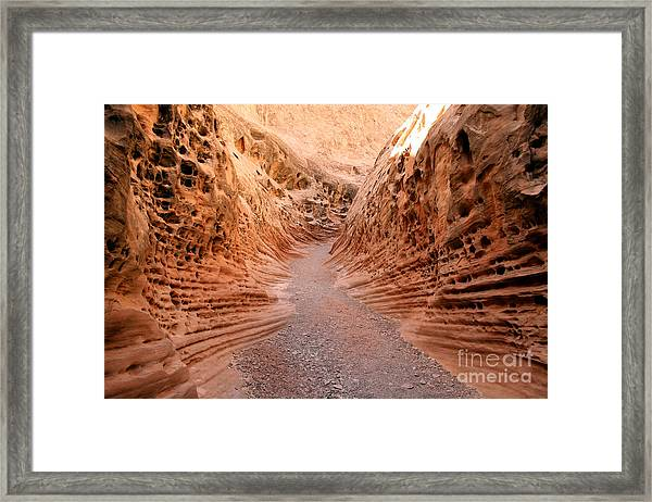 Little Wild Horse Canyon Framed Print by Andrew Serff