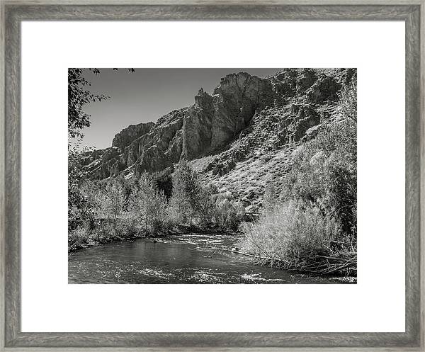 Little Wood River 2 Framed Print