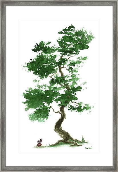 Little Zen Tree 365 Framed Print