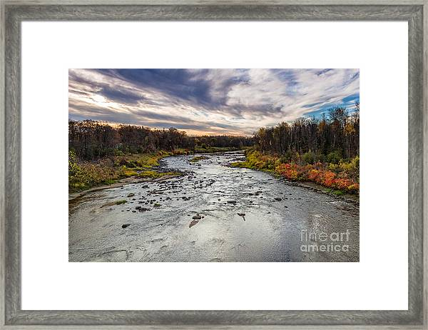 Littlefork River Framed Print