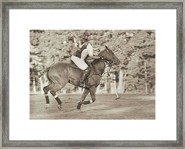 Live To Ride Framed Print