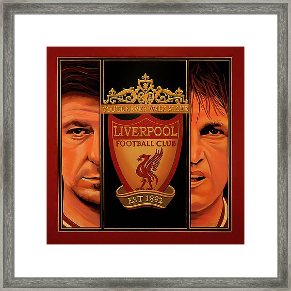 Liverpool Painting Framed Print
