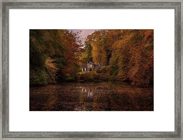 Living Between Autumn Colors Framed Print