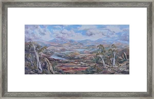 Living Desert Broken Hill Framed Print