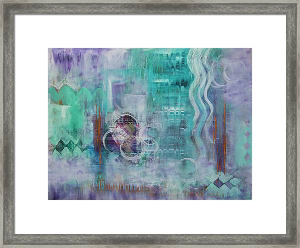 Living In The Mystery Framed Print