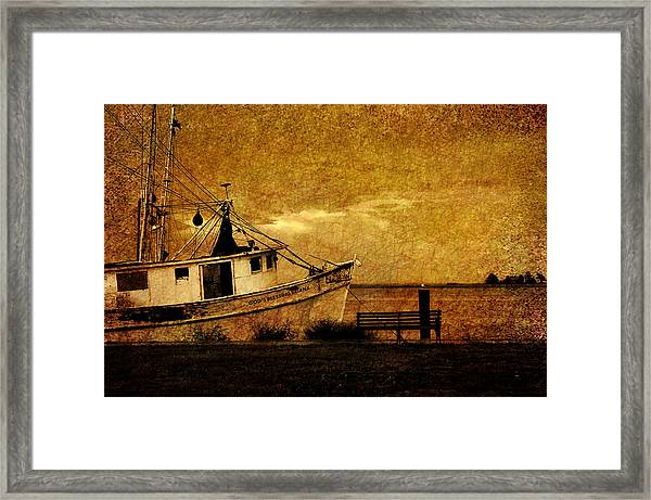 Living In The Past Framed Print