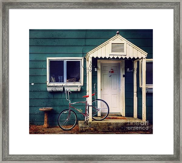Livingston Bicycle Framed Print