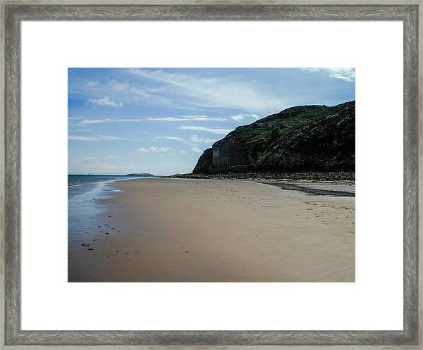 Llandbedrog Headland, Lleyn Peninsula, North Wales Framed Print