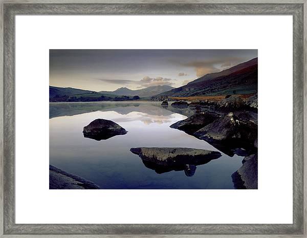 Llynnau Mymbyr Framed Print