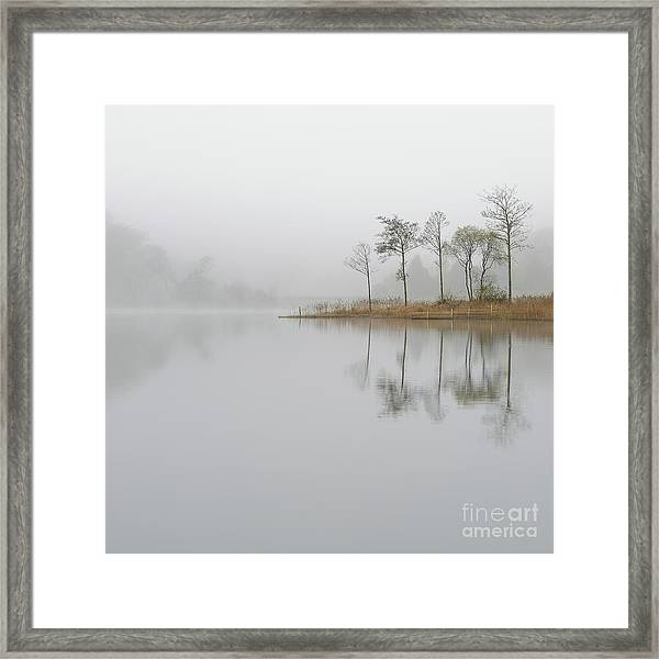Loch Ard Misty Sunrise Framed Print
