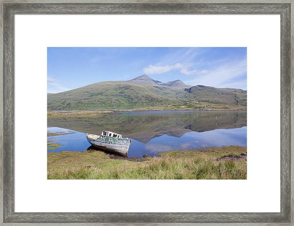 Loch Beg Reflections Framed Print