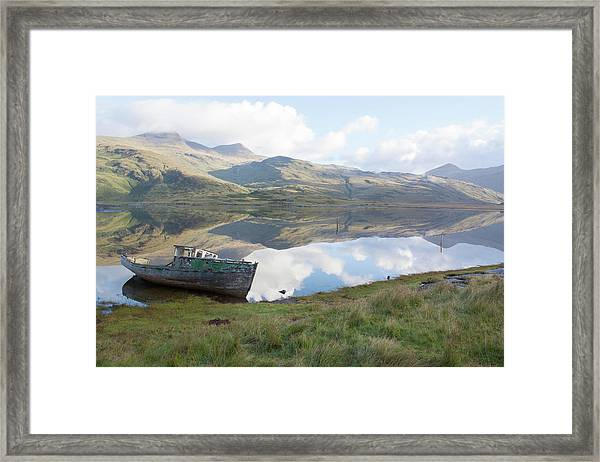 Loch Beg Reflects Framed Print