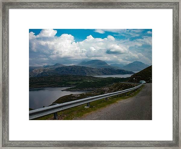 Loch Kishorn, Plockton, Scotland Framed Print
