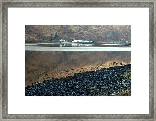 Loch Linnhe Reflection Framed Print