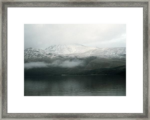 Loch Lomond, Winter Framed Print