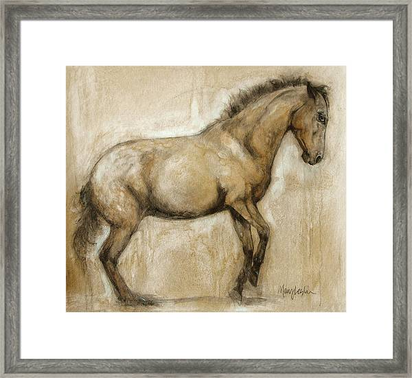 Lock And Load Framed Print by Mary Leslie