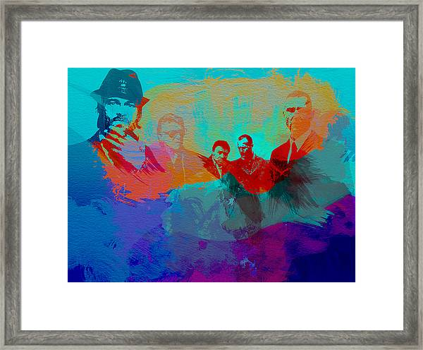 Lock Stock And Two Smoking Barrels Framed Print