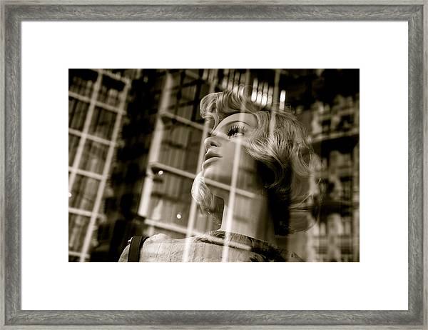 Locked In  Framed Print by Jez C Self