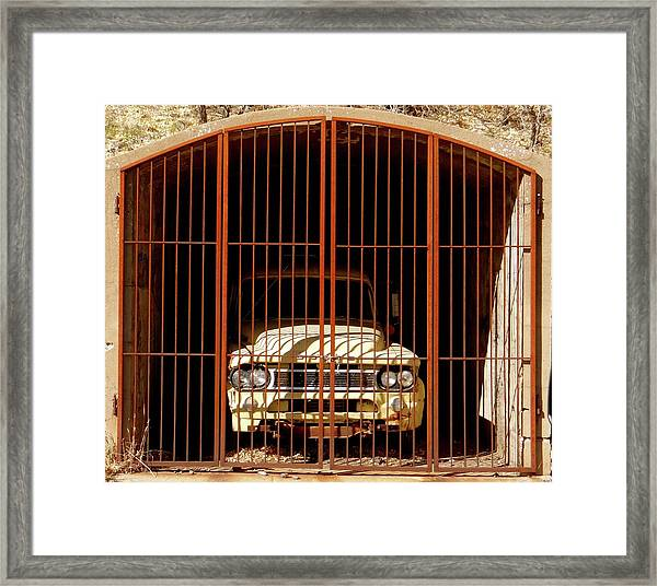Locked Up Framed Print
