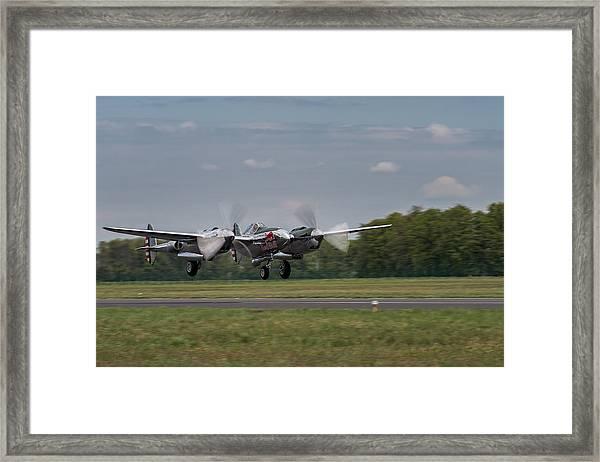 Lockheed P-38 Lightning Framed Print