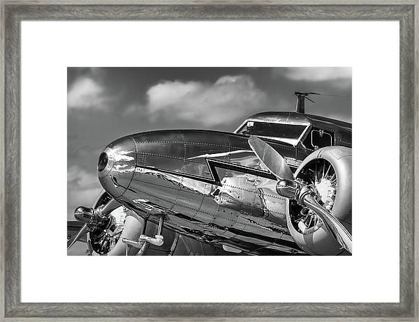 Lockheed Splendor Framed Print