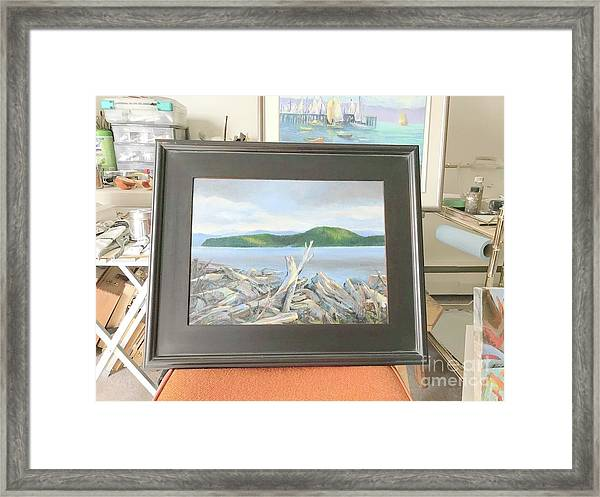 Lockside  Framed Print