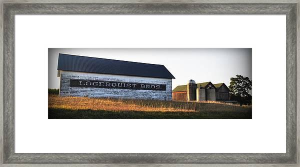 Logerquist Bros. Framed Print