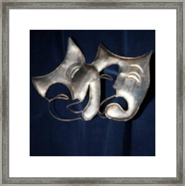 Logo For Theater Productions Framed Print