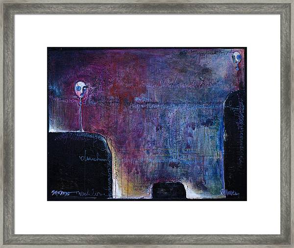 Framed Print featuring the painting Lollipop Love No. 3 by Laurie Maves ART