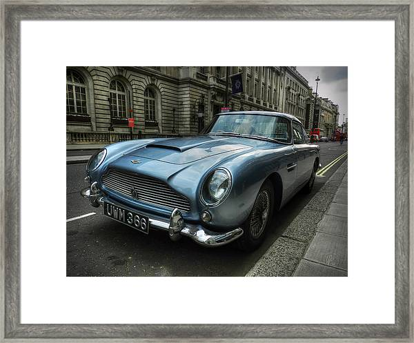 Framed Print featuring the photograph London 043 by Lance Vaughn