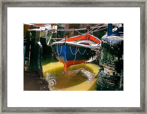 London Boat Framed Print