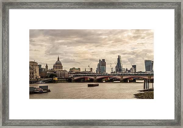 London Cityscape Framed Print
