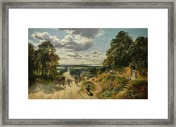 London From Shooters Hill Framed Print