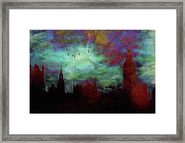 London Skyline II Framed Print