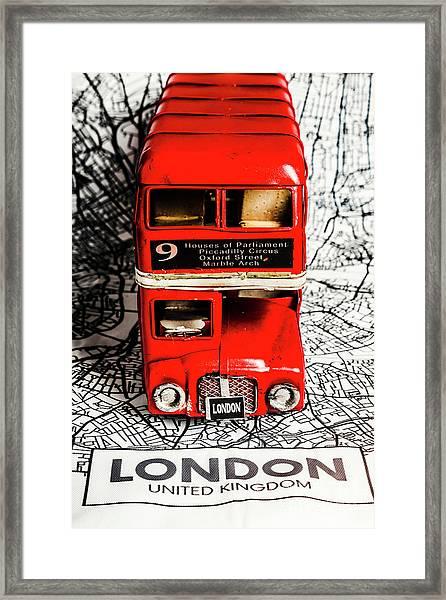 London Tours Framed Print
