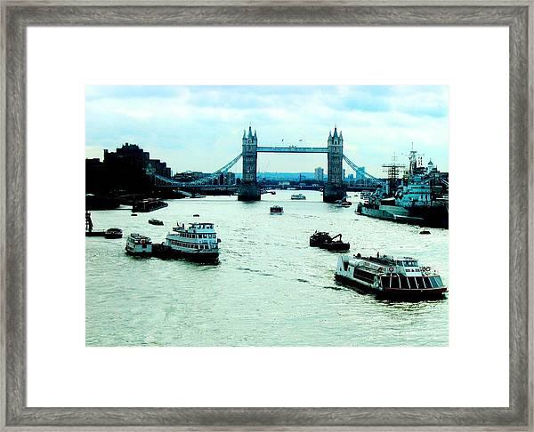 London Uk Framed Print