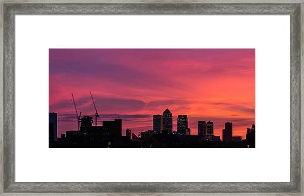 London Wakes 1 Framed Print