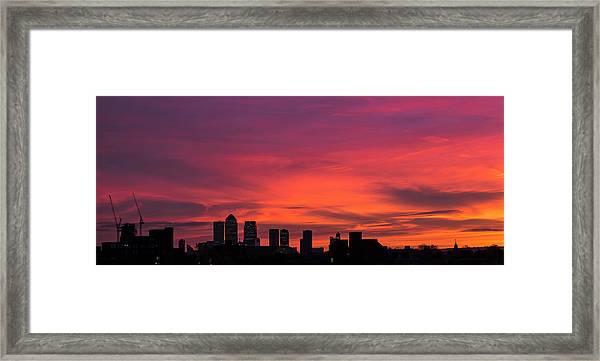 London Wakes 2 Framed Print