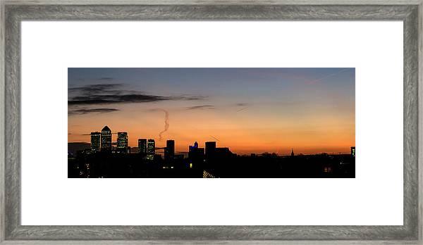 London Wakes 3 Framed Print