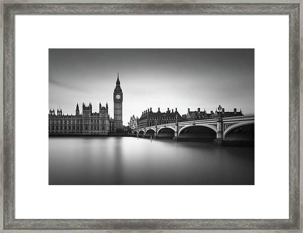 London, Westminster Bridge Framed Print