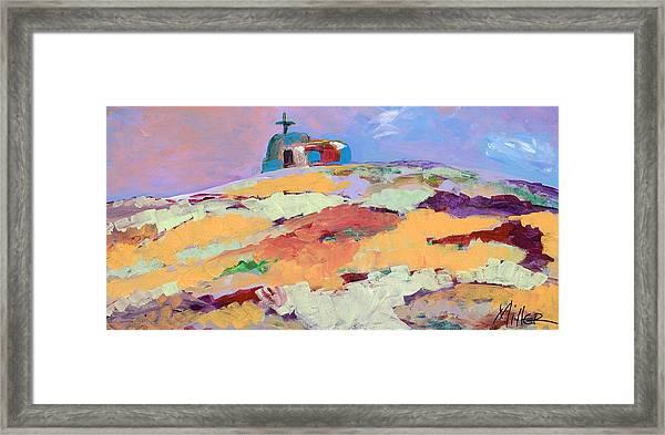 Lone Church Framed Print