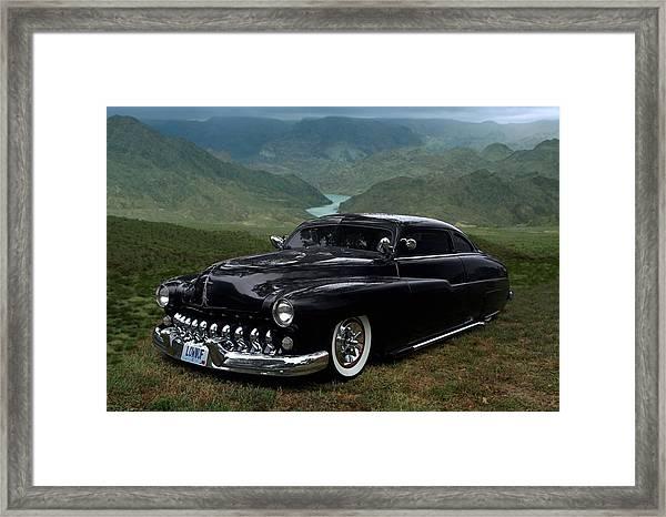 Lone Wolf 1949 Mercury Low Rider Framed Print